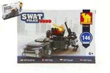 Dromader Stavebnice SWAT Policie Auto 146ks