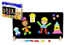 Detoa Magnetické puzzle děti v krabici 33x23x3,5cm