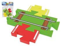 Millaminis Moje první koleje – přejezd puzzle pěna 3ks v sáčku 0+