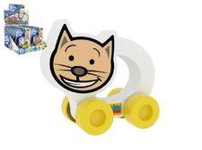 Millaminis Moje první autíčko Kočička pěna 8,5x8cm na kartě  0+(lze mixovat s os