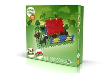 Vista Stavebnice Blok 3 Farma plast 197ks v krabici 35x33x8cm