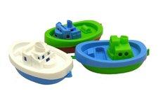 Lena Loď/člun do vody 3ks plast 15cm v sáčku 3ks 12m+