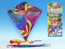 Wiky Drak létající Diamant plast 61x66cm asst 6 druhů
