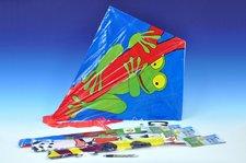 Wiky Drak létající plast 72x68cm asst 6 druhů v sáčku