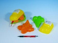 Formičky/Bábovky plast 3ks v síťce