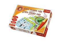 Trefl Malý objevitel Svět kolem nás + kouzelná tužka edukační společenská hra v krabic