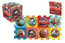 Trefl Pěnové puzzle Cars/Auta 32x32x1cm 8ks v sáčku