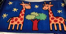 Dětský koberec Žirafa