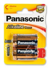 Baterie Panasonic Alkaline Power - C, 2 ks