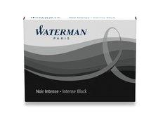 Inkoustové bombičky WATERMAN standardní černé, 8 ks