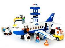 Stavebnice kostky letadlo