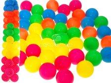 Plastové míčky 46 ks (6,5 cm)