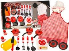 Kuchařský set kovového nádobí