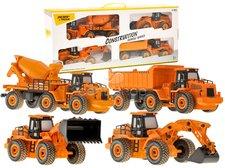Velká sada stavebních vozidel