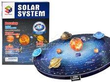 3D Puzzle sluneční soustava
