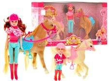 Panenky s koníkem a poníkem