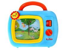 Televize pro nejmenší modrá