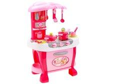Kuchyňka dětská růžová