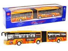 Kloubový autobus oranžový