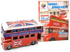 3D Puzzle Anglický autobus