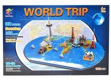 3D Puzzle Mapa světa