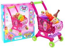 Nákupní vozík růžový